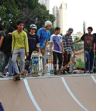 Ignauguración del skatepark (más fotos)