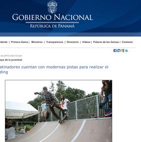 Jóvenes patinadores cuentan con modernas pistas para realizar el skateboarding