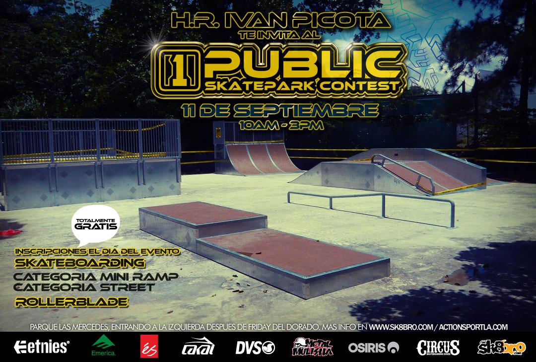 1st Public skatepark contest