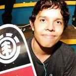 Isaac Prados representando Relik sk8 crew colon