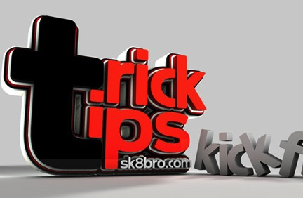Trick Tips - KICKFLIP