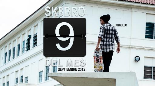 Sk8bro del mes - Septiembre 2012 - Angello Benavides