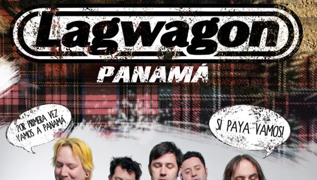 Directamente desde Santa Barbara California llega a Panamá LAGWAGON