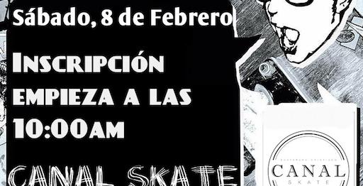 Canal Skate - sábado 8 de feb