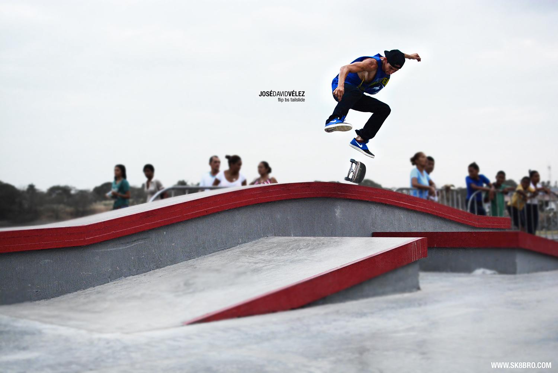 Tal Cual - flip bs tailslide