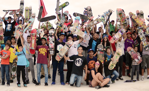Go Skateboarding Day - La Chorrera (parte 2)