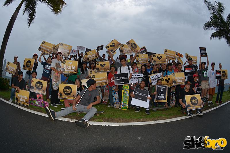 go skateboarding day en Panama - parte 1 fotos
