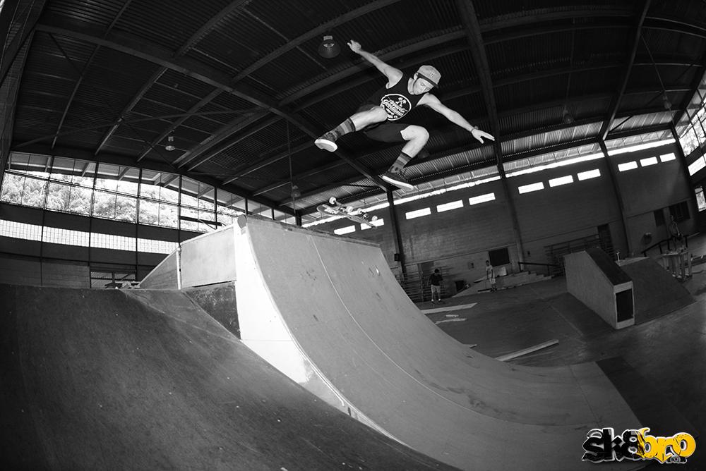 Josh Lingelbach - kickflip bs disaster