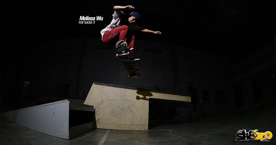 Melisa Wu - pop shove it en secuencia