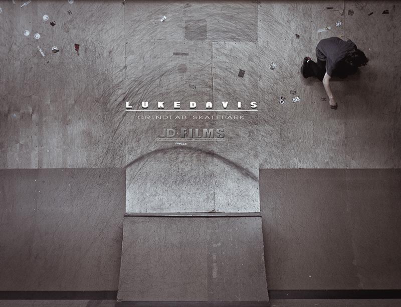 Luke Davis GrindLab Indoor Skatepark
