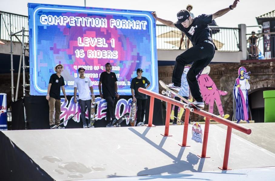 Las mejores fotos del Red Bull Skate Arcade 2014