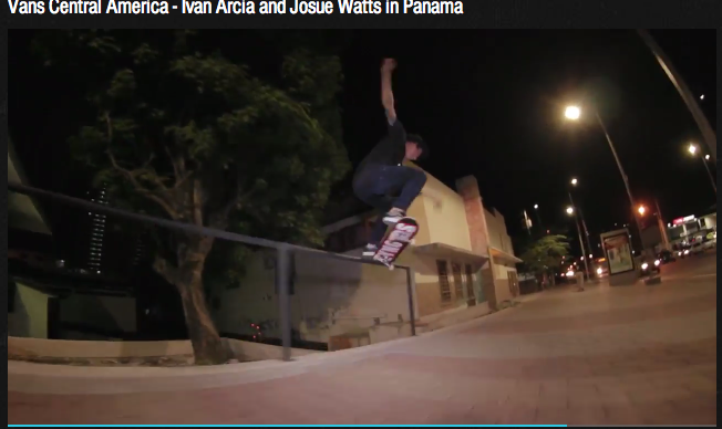 Vans Central America - Ivan Arcia and Josue Watts in Panama