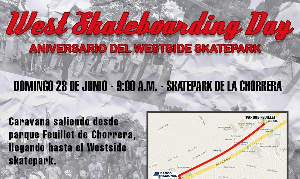West Skateboarding Day - Aniversario del Westside Skatepark