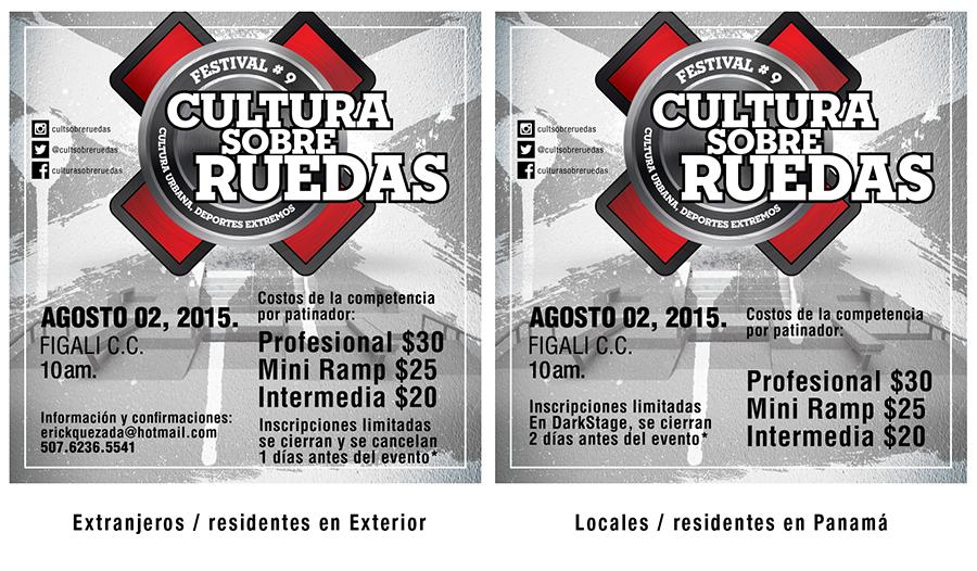 Inscripciones para Cultura Sobre Ruedas