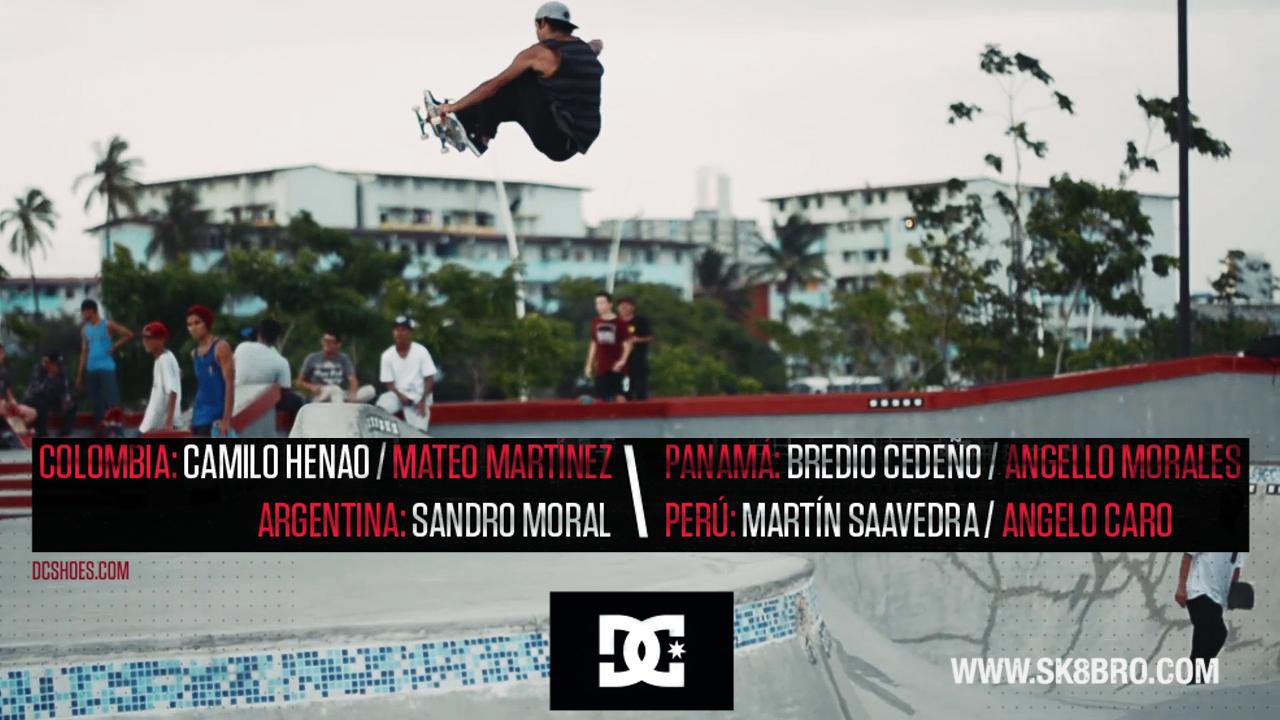 Demo DC latinoamérica en el skatepark de la Cinta Costera 3
