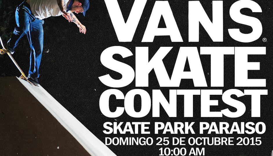 Vans Skate Contest / 25 de Octubre