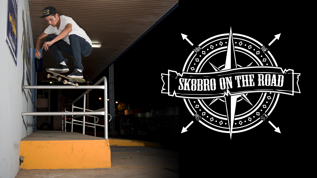 SK8BRO - on the road - AZUERO