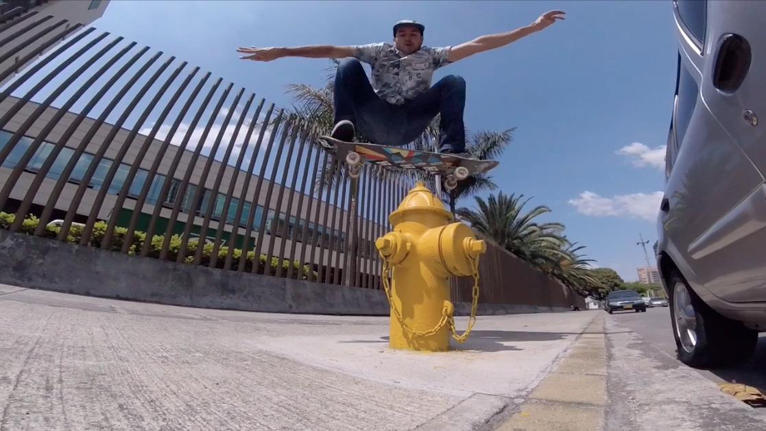 Medellin Skate Trip - Enero 2016