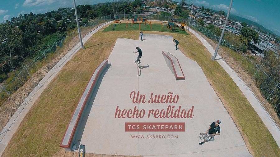 TCS SKATEPARK - UN SUEÑO HECHO REALIDAD (video)
