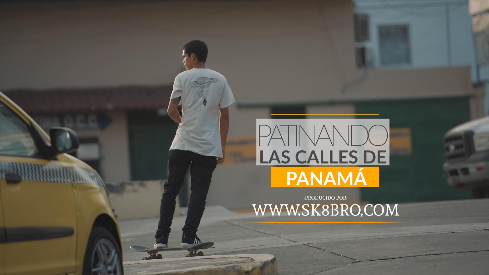 Patinando las calles de Panamá