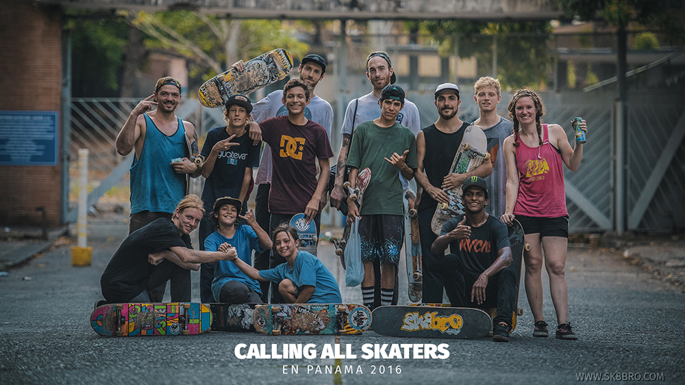 Calling All Skaters en Panamá 2016